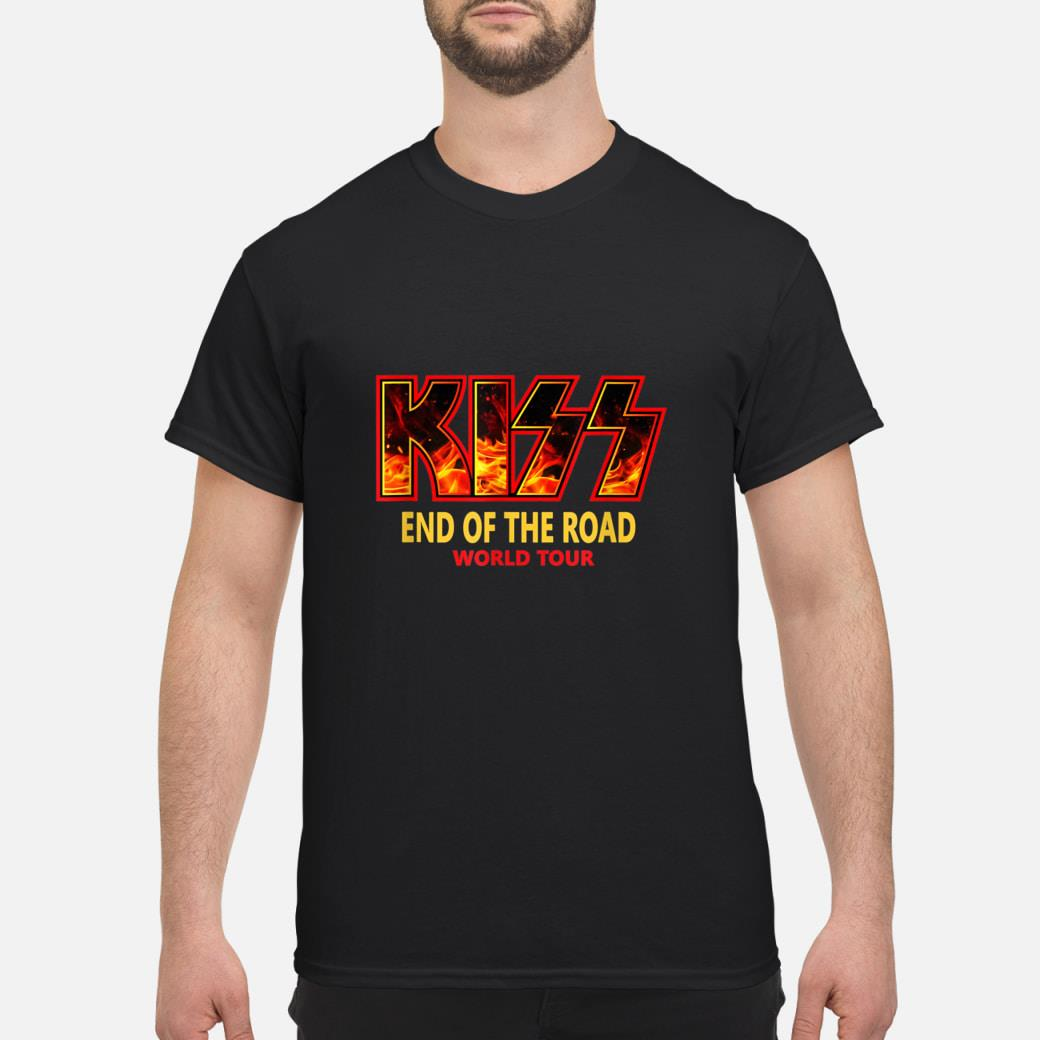 End of the year kiss road tour 2019 shirt
