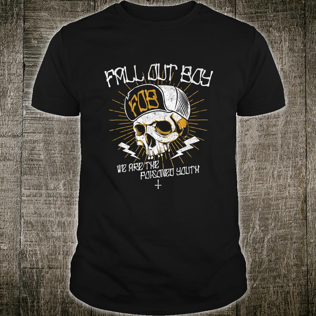 Fall Out Boy Poisoned Youth Skull Shirt