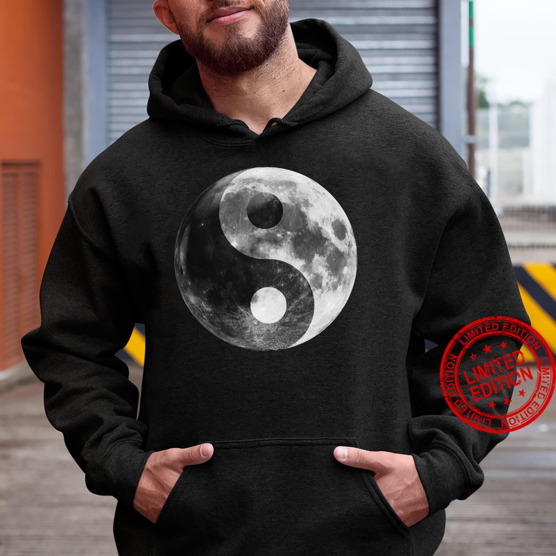 Full Moon, Ying Yang Full Luna Yin Yang Moon Zen Moon Shirt hoodie