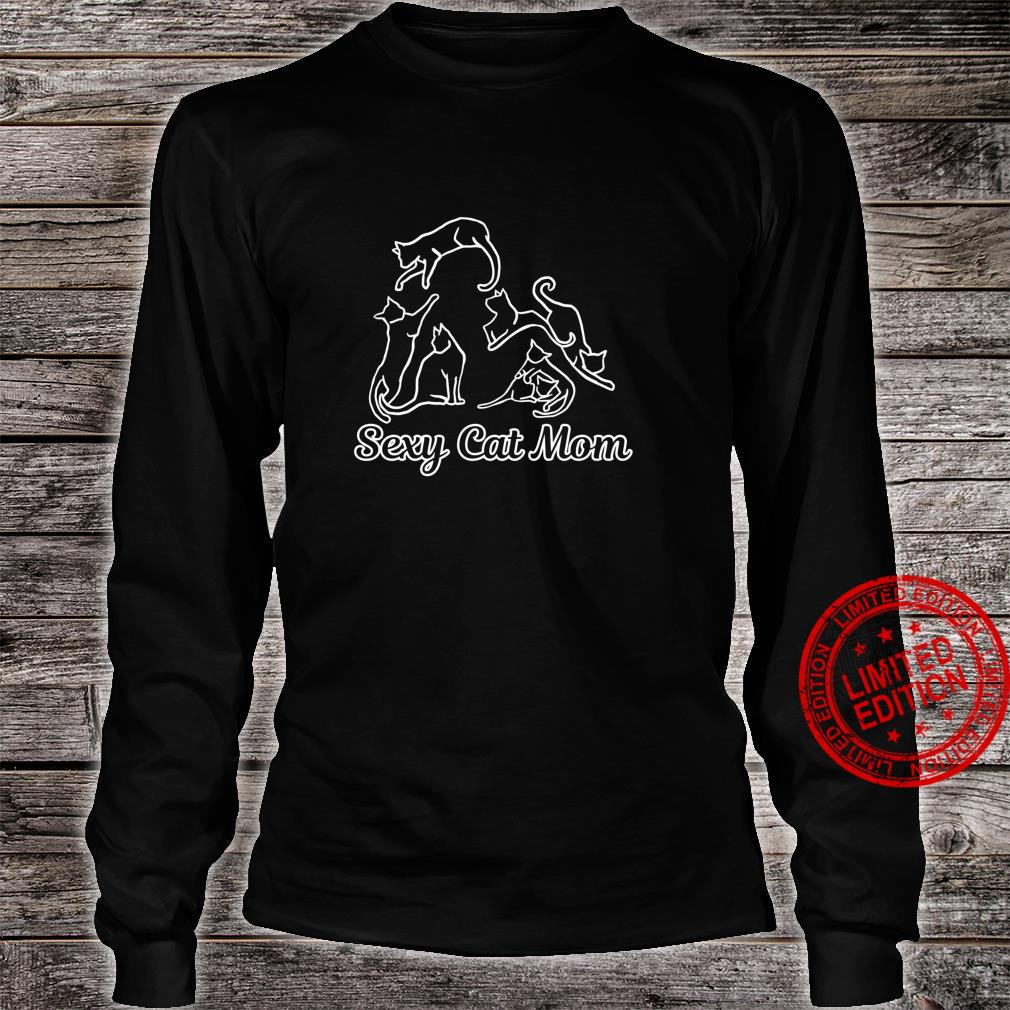 Funny Sexy Crazy Cat Lady Cute for Cats Best Mom Langarmshirt Shirt long sleeved