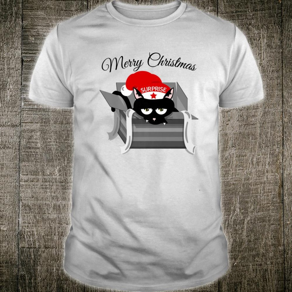 Funny cat for Christmas Shirt