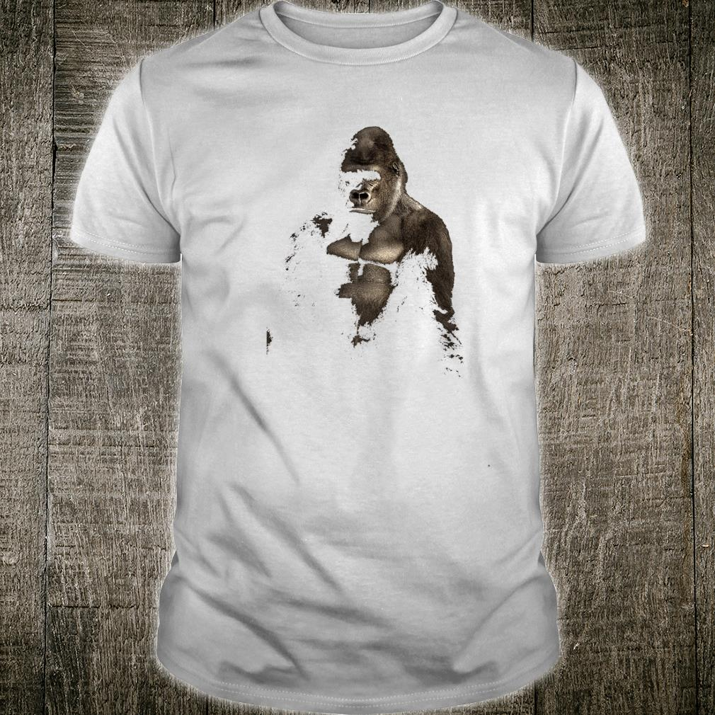 Gorilla Art Design Shirt