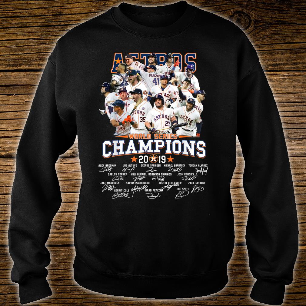 GraphicAstrosAmericanBaseballLeague2019Champion Shirt sweater