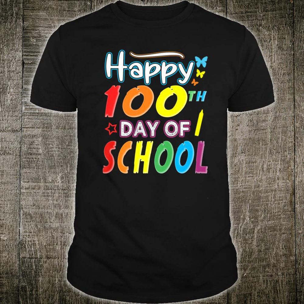 Happy 100th Day of School, Cute Teacher or Student Shirt