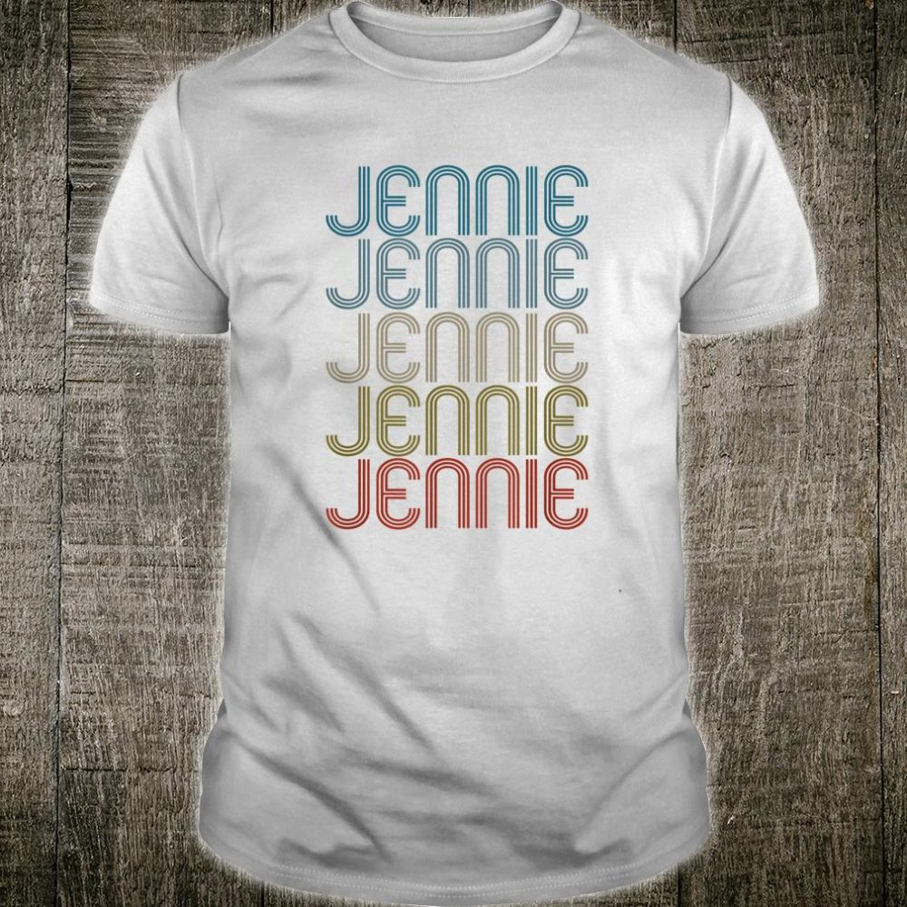 Jennie First Name Vintage Shirt