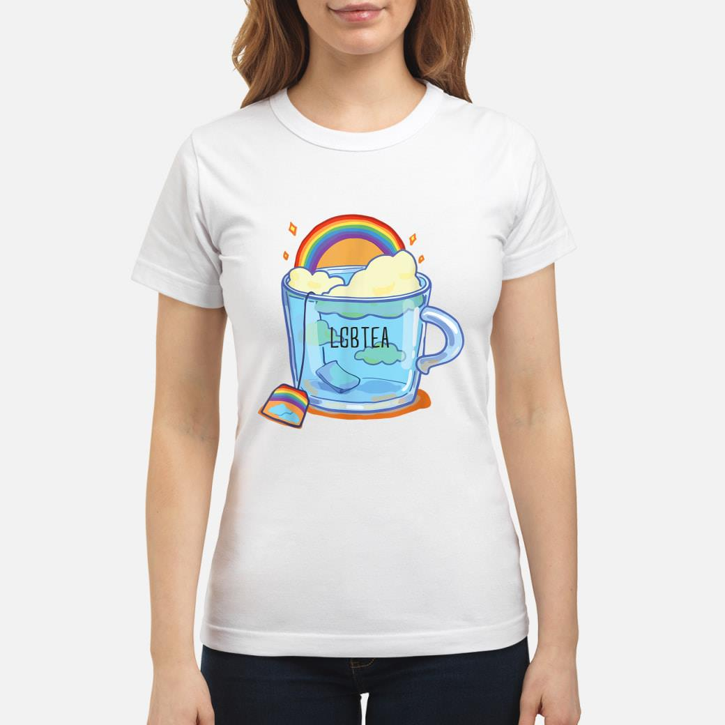 LGBTea gift, LGBT support gift, pride month Shirt ladies tee