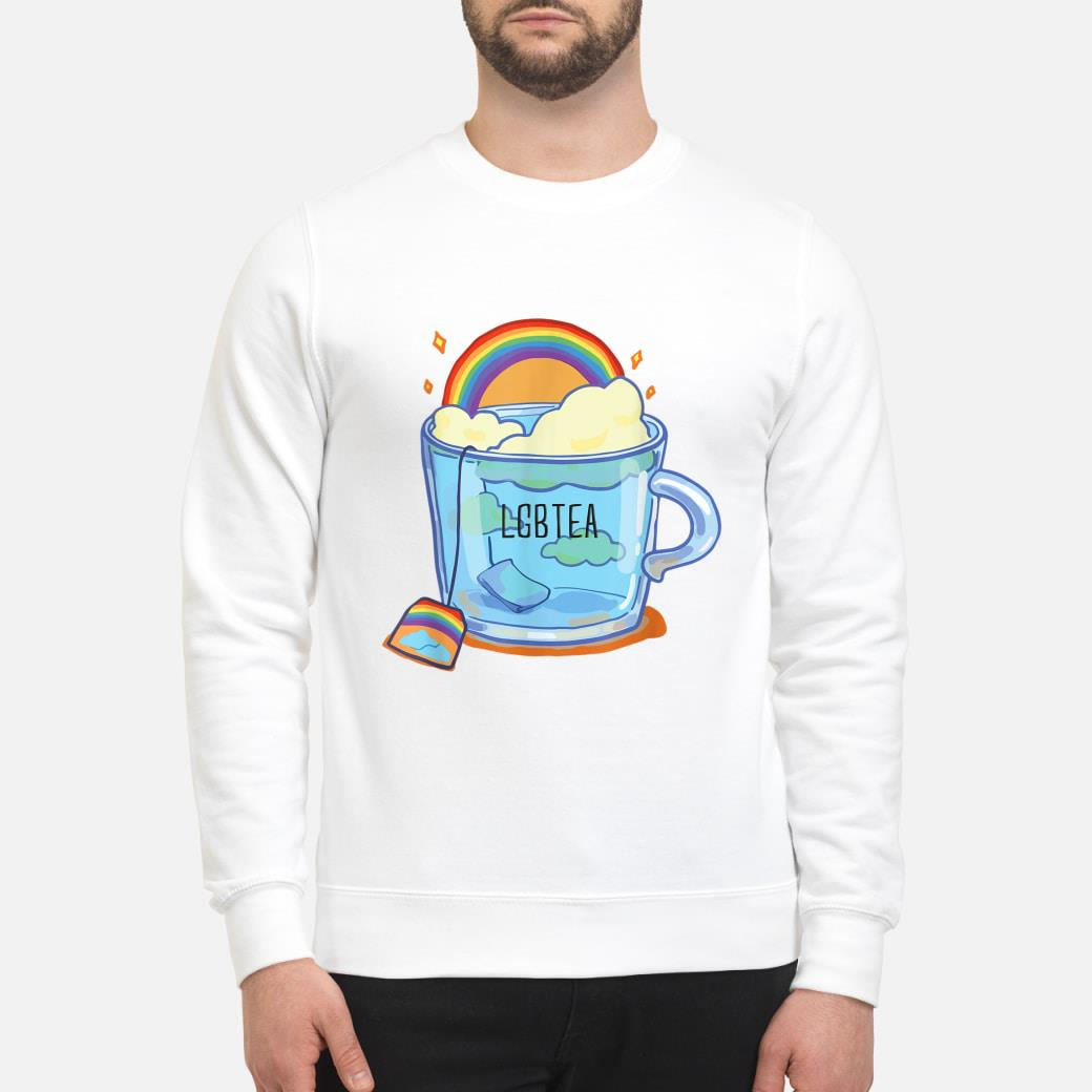 LGBTea gift, LGBT support gift, pride month Shirt sweater
