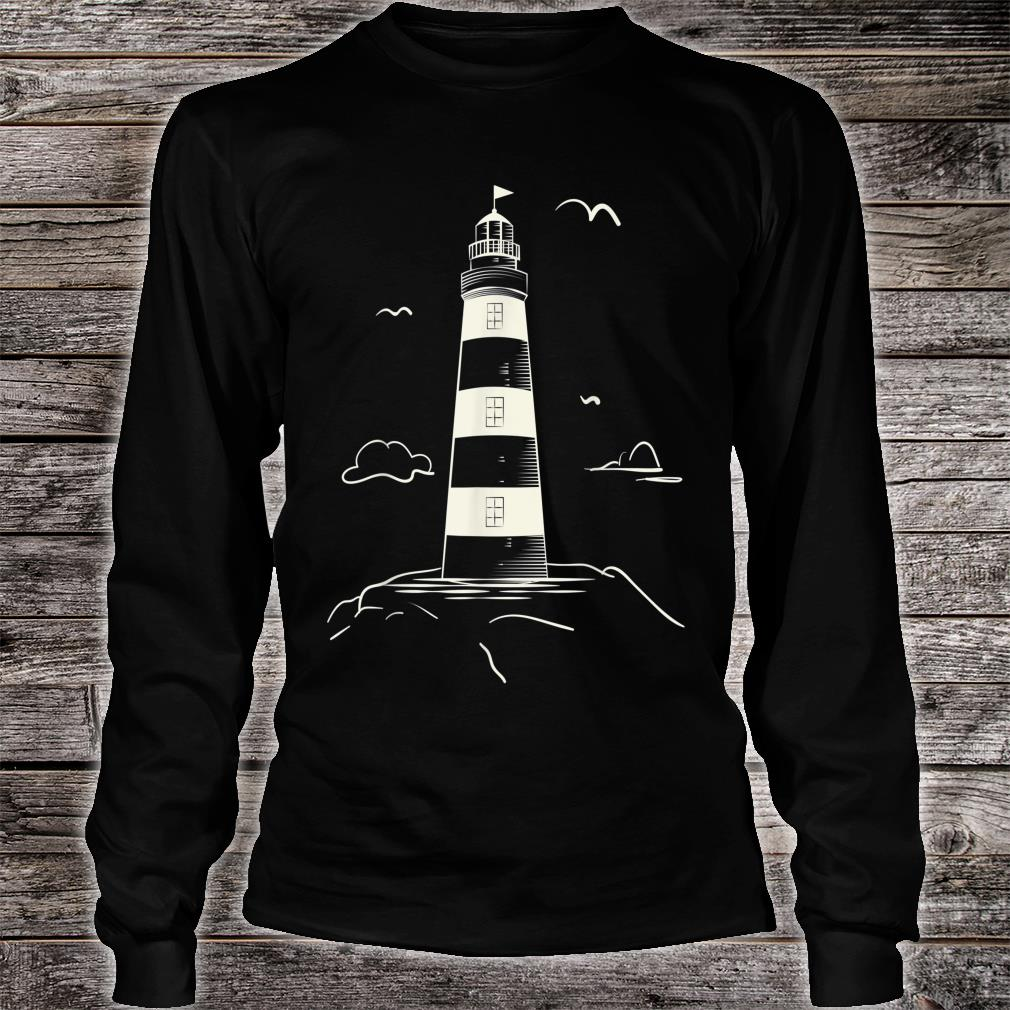 Lighthouse Collection For Men And Women shirt Long sleeved