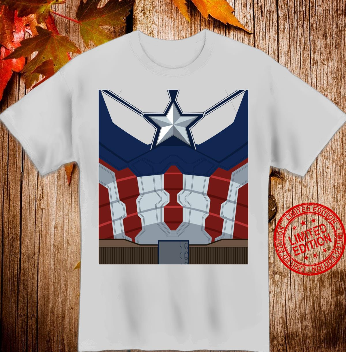 Marvel Captain America Costume Shirt