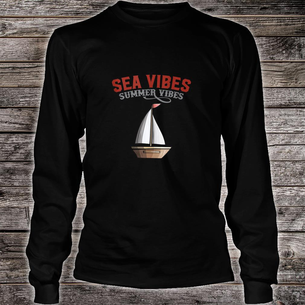 Nautical Sea Vibes Shirt long sleeved