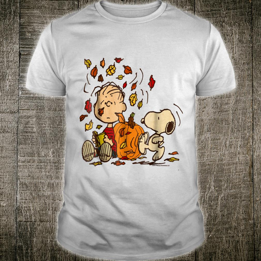 Peanuts Snoopy & Linus Fall Shirt
