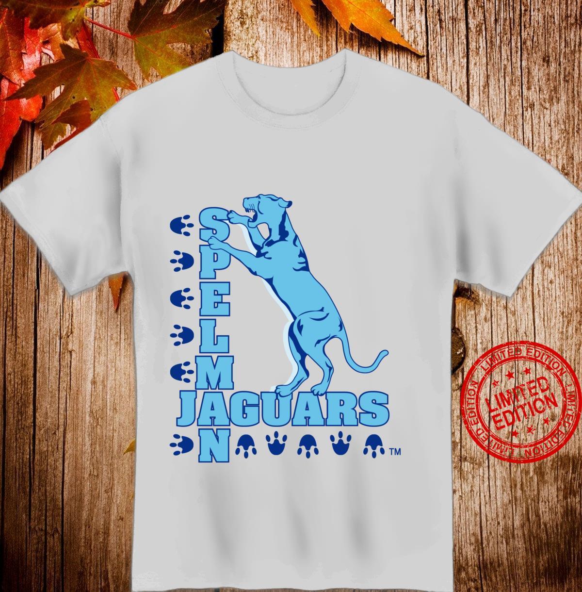 Spelman Jaguars's College NCAA LS PPSLP01 Shirt