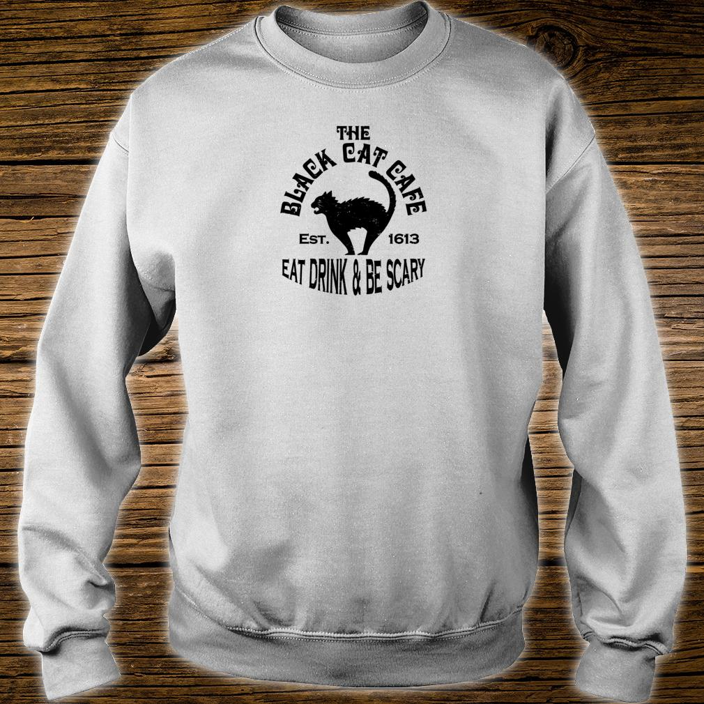 The Black Cat Cafe Shirt sweater