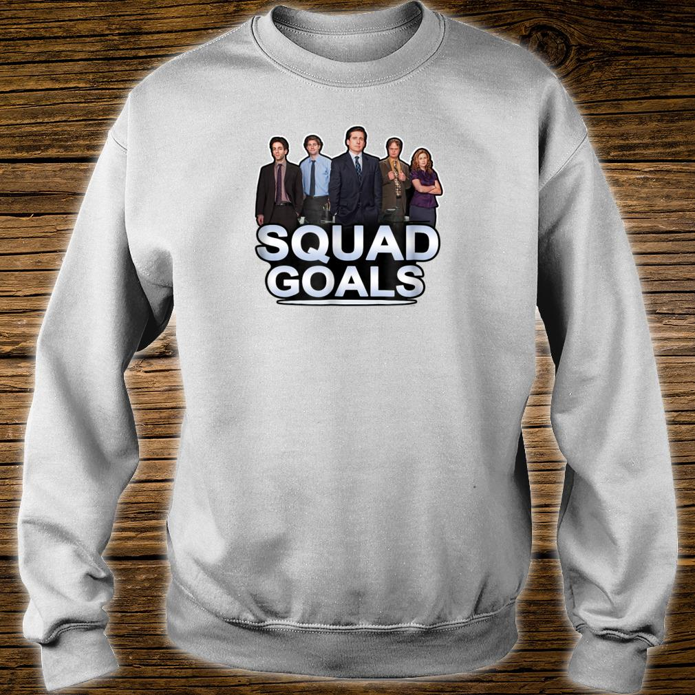 The Office Squad Goals Short Shirt sweater