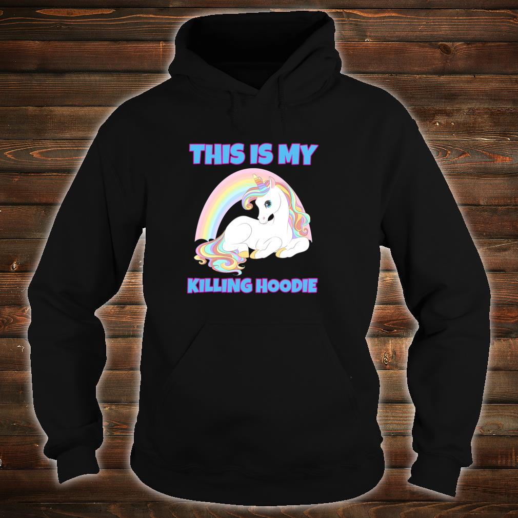 This Is My Killing Gym Rock Style Costume Shirt hoodie