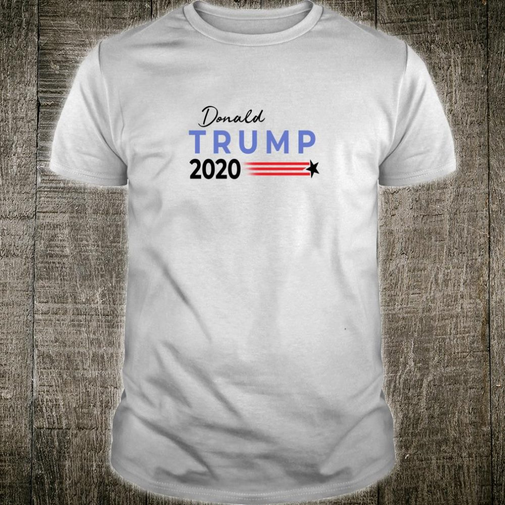 Trump 2020 President ReElect Republican MAGA Supporters Fan Shirt
