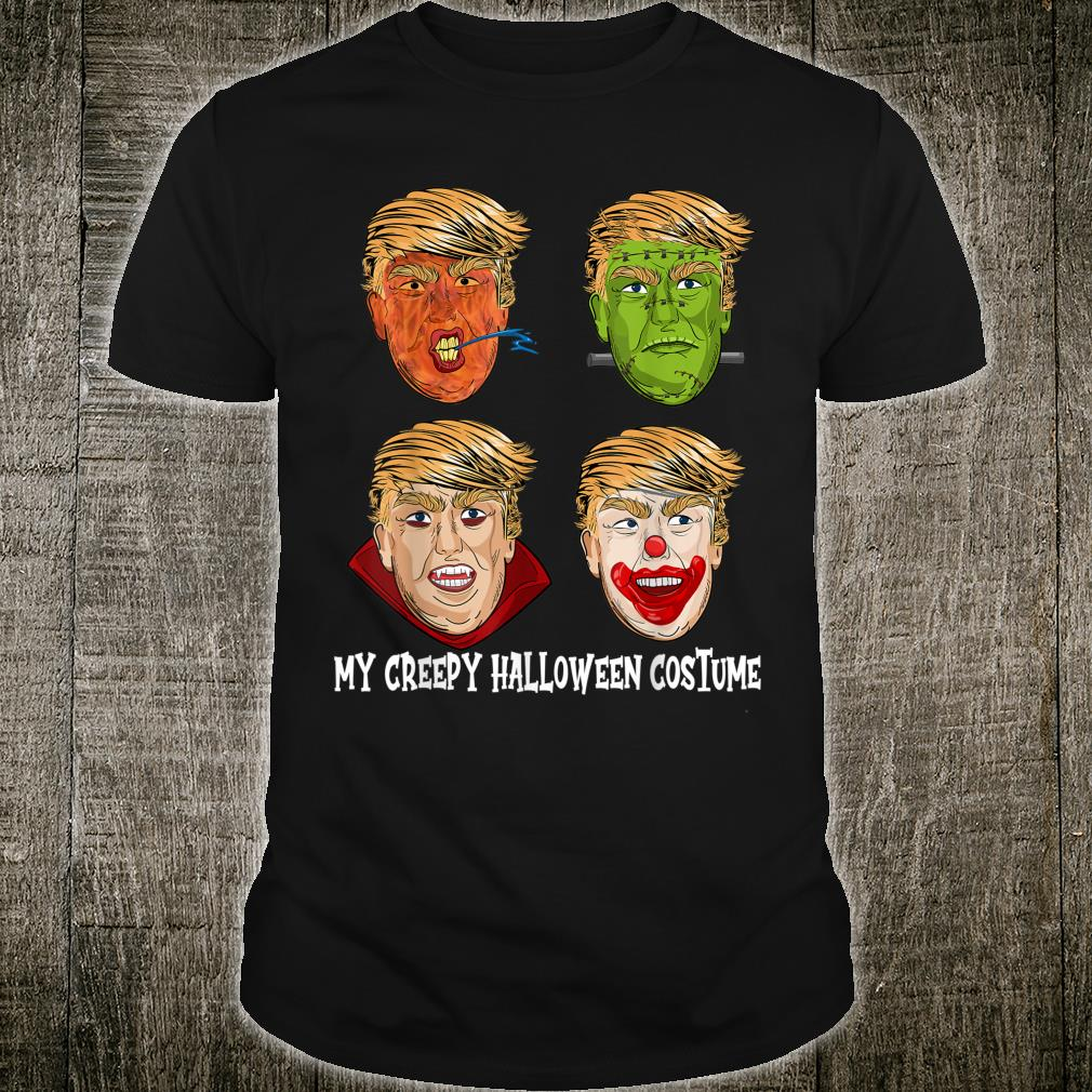 Trump Halloween Party Clown Dracula Zombie Shirt