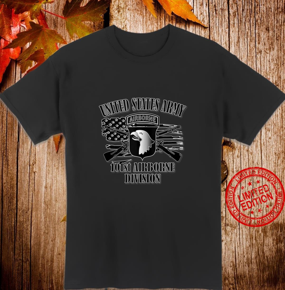 U.S. Army 101st Airborne Division Front Design Shirt