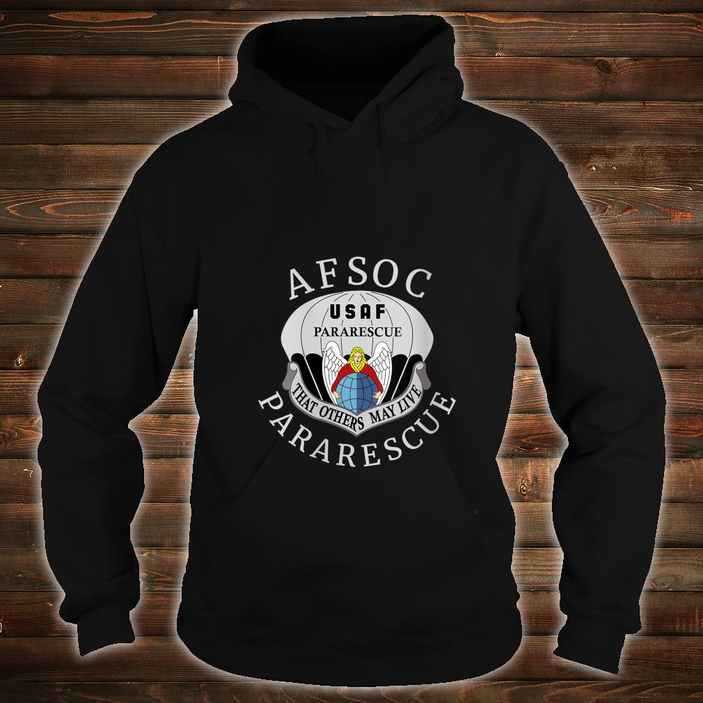 USAF Pararescue United States Air AFSOC Shirt hoodie