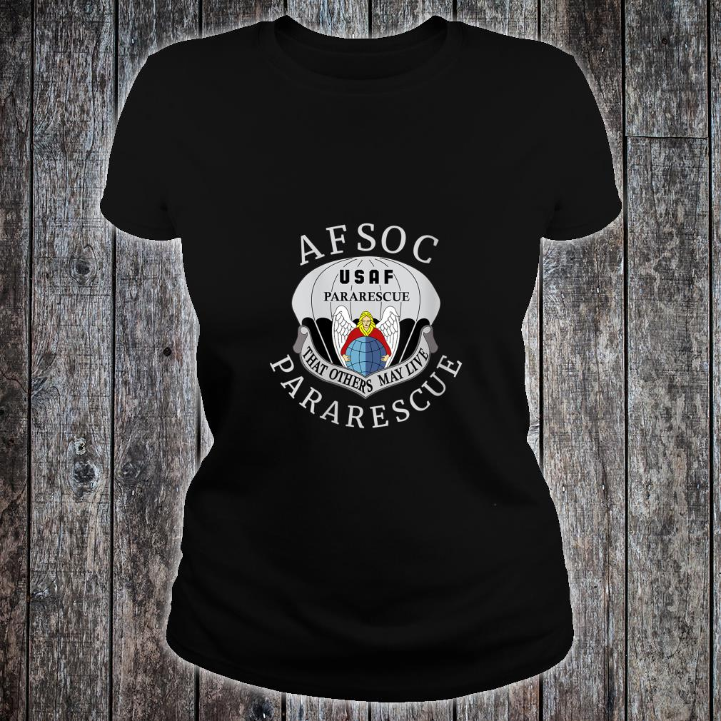 USAF Pararescue United States Air AFSOC Shirt ladies tee