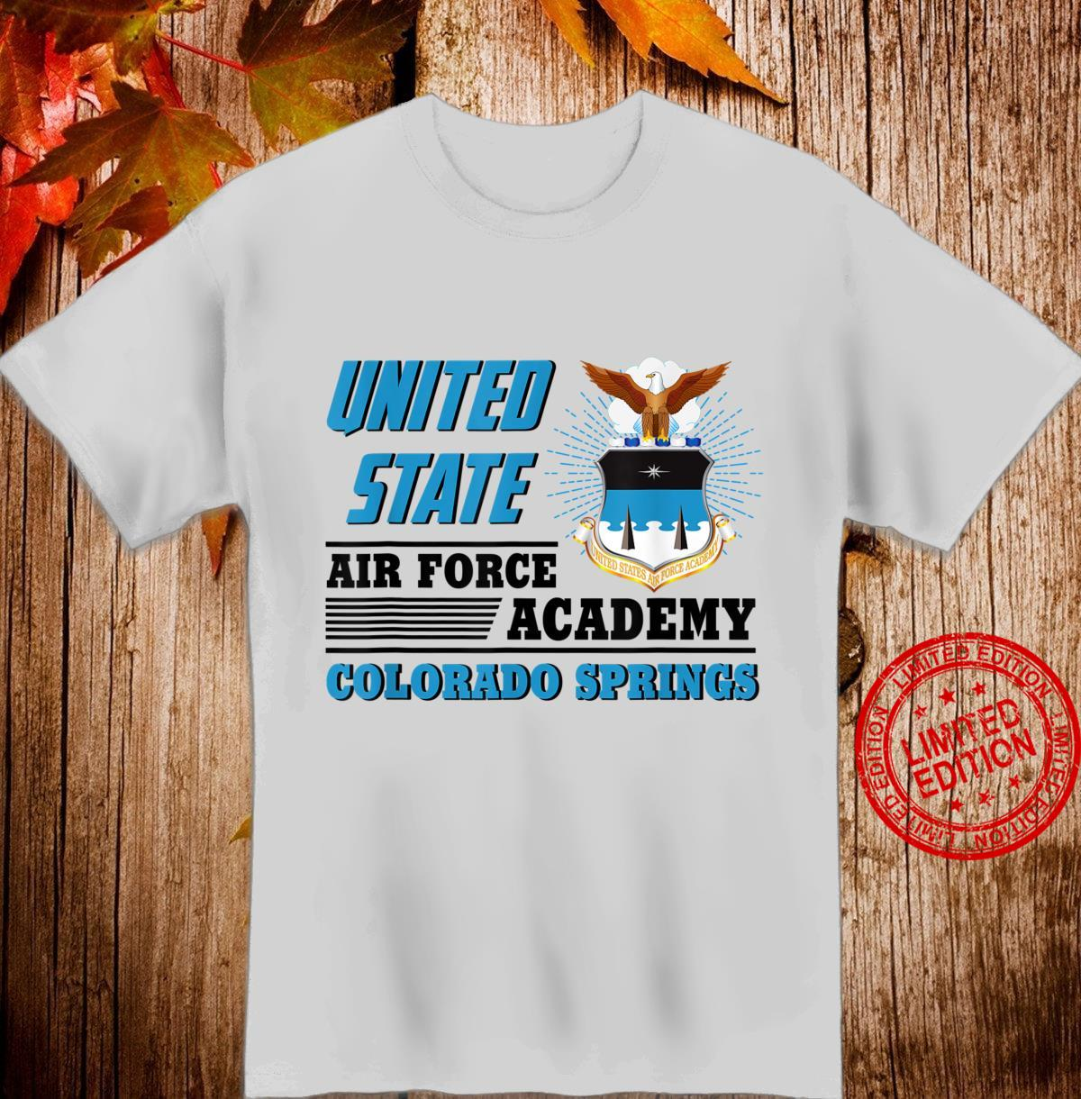United Air Force Academy Colorado Springs Veteran's Day Shirt