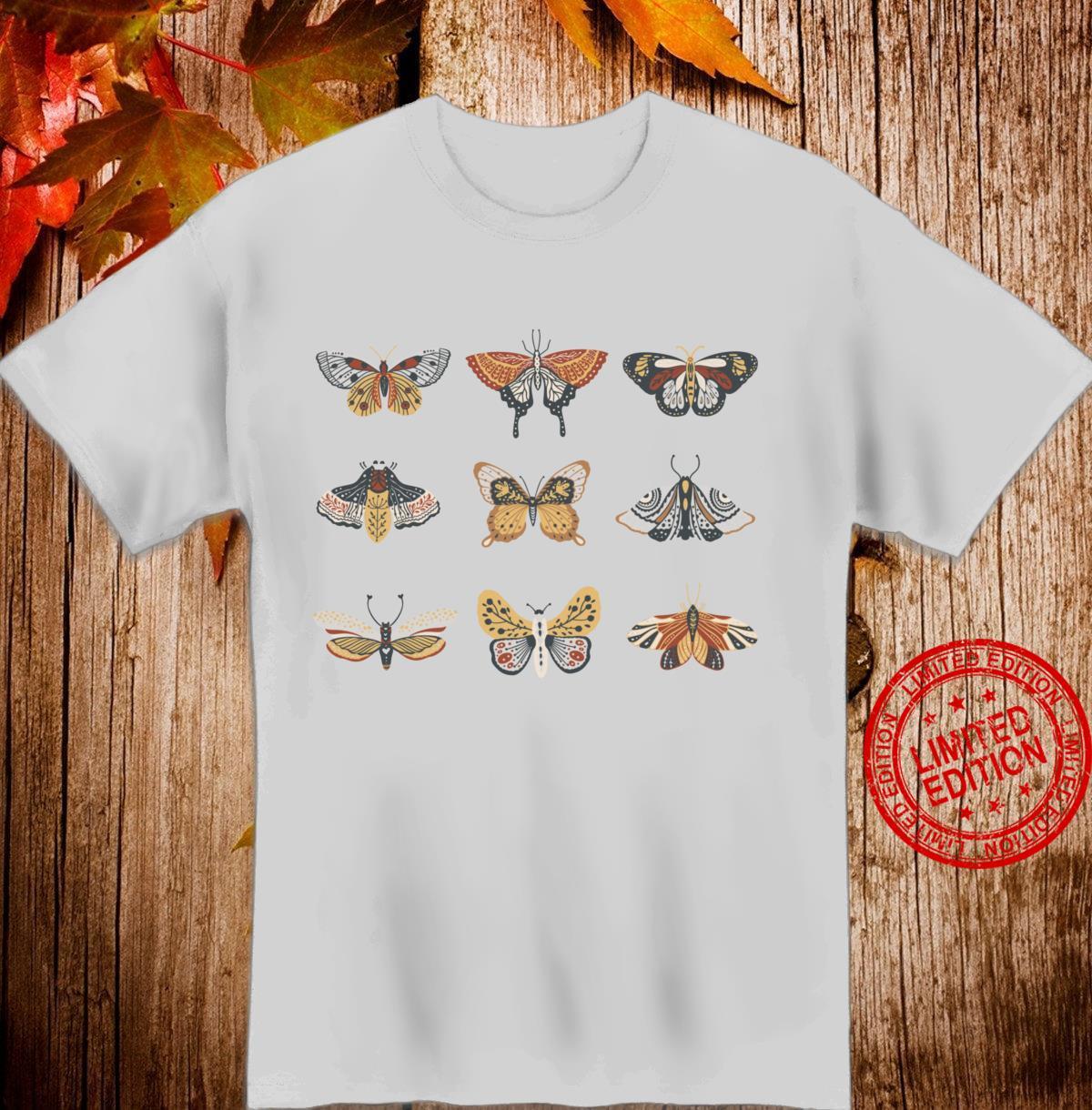 Vintage Boho Butterflies Shirt