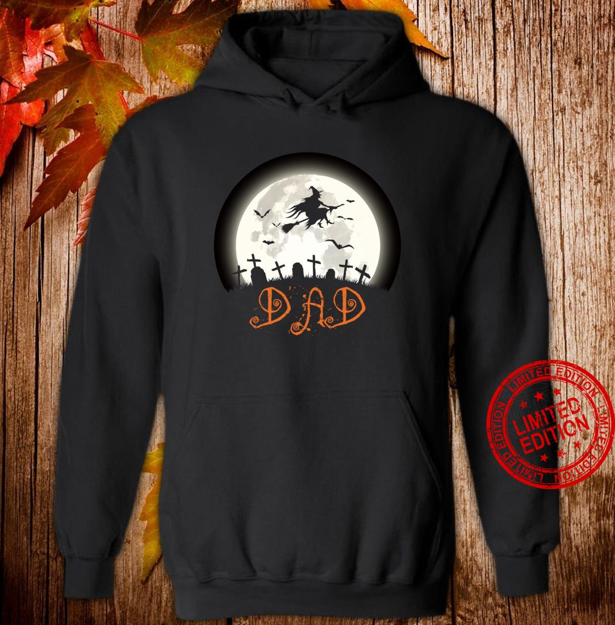 Witch Graveyard Dad Family Matching Halloween Costume Shirt hoodie