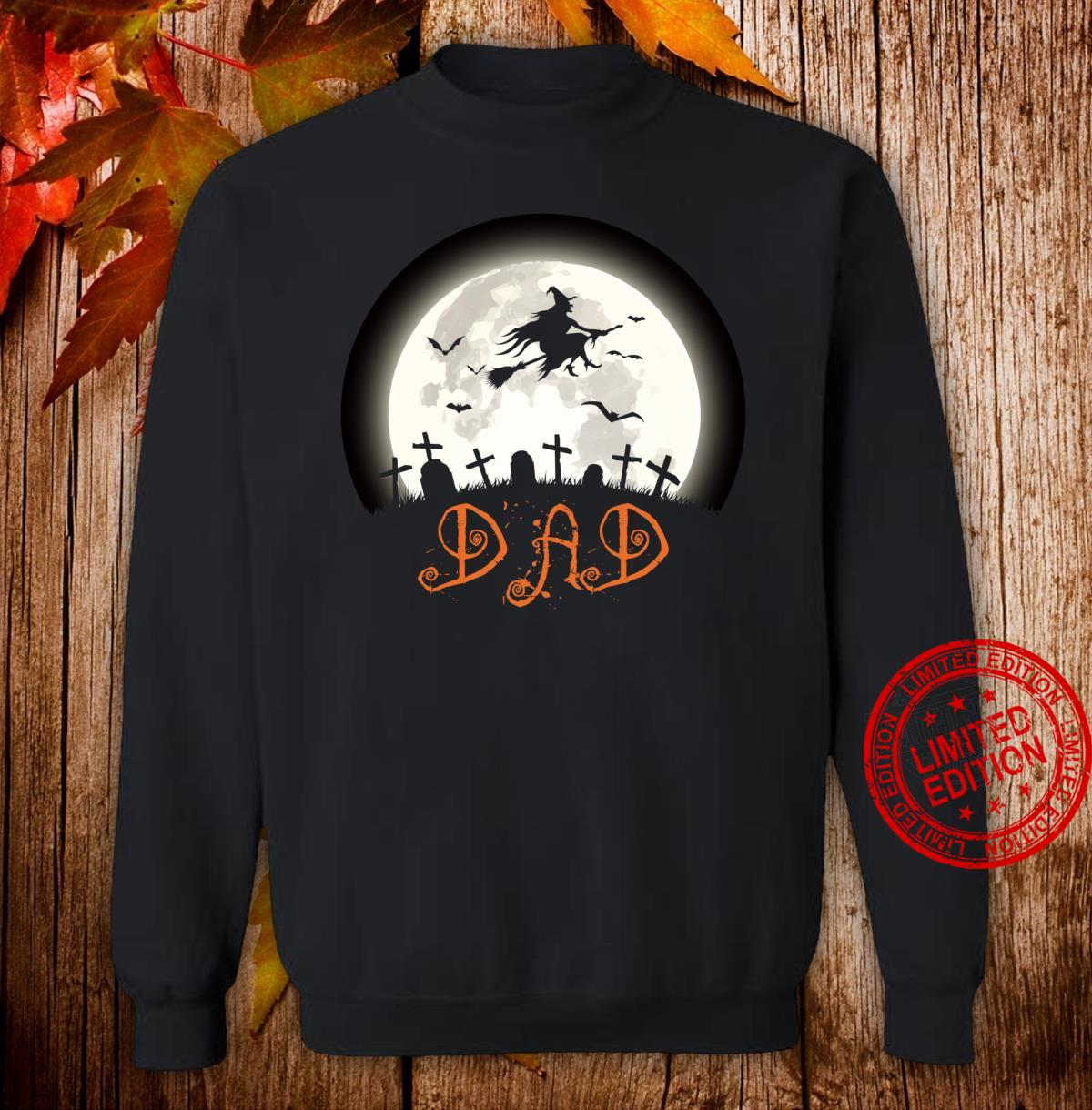 Witch Graveyard Dad Family Matching Halloween Costume Shirt sweater