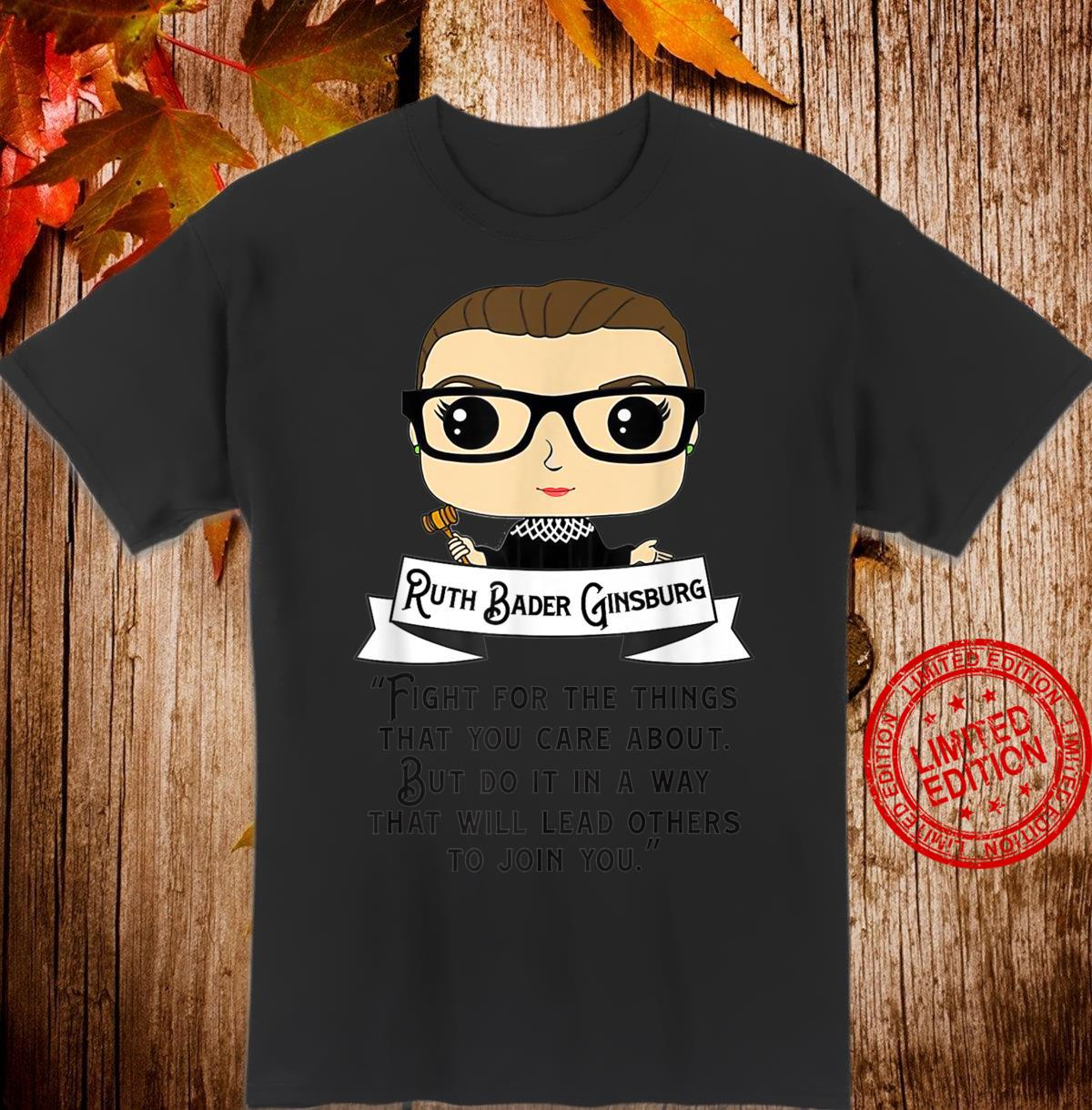 Women Belong In All Places Feminist Ruth Bader Ginsburg Shirt