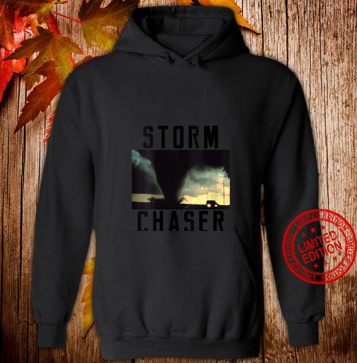 Womens Storm Chaser Tornado Picture Weather Meteorologist Shirt hoodie